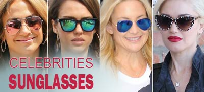Find all celebrities sunglasses