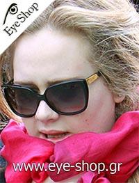 Adelewearing sunglasses Guccigg 3180s