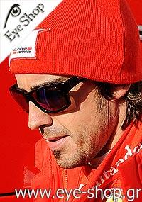 c5533de768 Formula 1 Pilot Ferrari - Fernando Alonso wearing Oakley Jupiter Squared