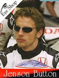 02953cd291 Formula 1 Pilot Jenson Button wearing RayBan