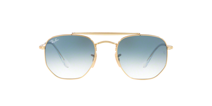 Rayban 3648 THE MARSHAL 001/3F Hex 360 View
