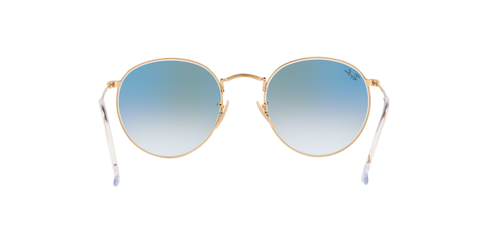 Rayban 3447N Round Metal 001/3F 360 view