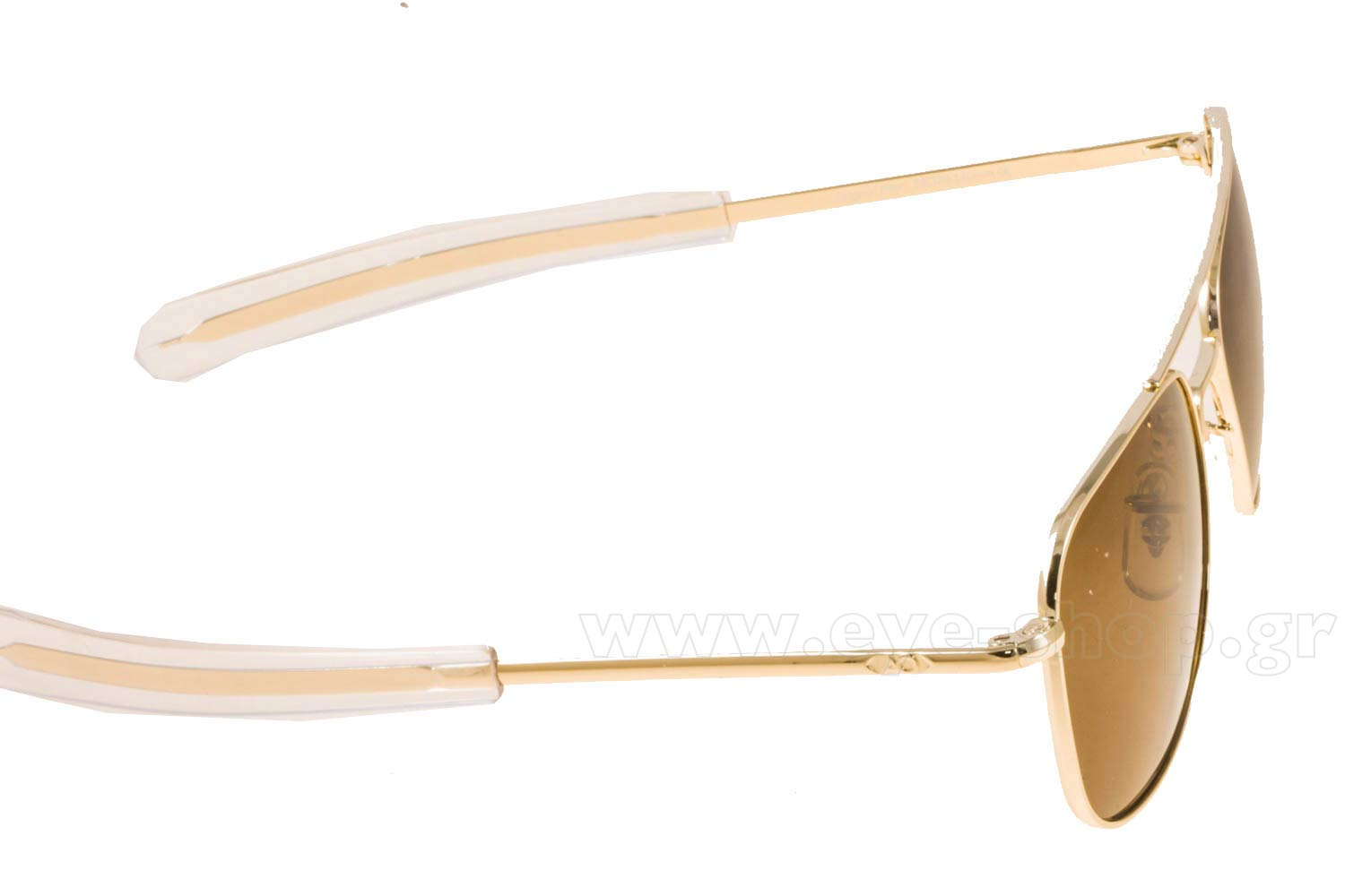American Optical model ORIGINAL PILOT color Gold Brown Crystal Polarized  U.S.A. 042896724e9