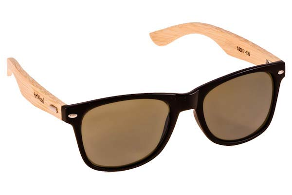 Sunglasses Artwood Milano Bambooline 2 MP200 MtBlack - bamboo Cat3