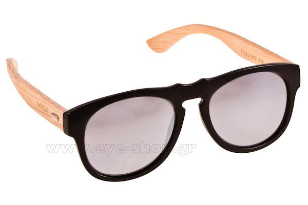 Sunglasses Artwood Milano Steve 60 MtBlack SilverMirror Polarized Cat3