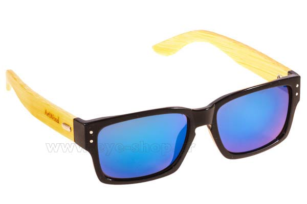 Sunglasses Artwood Milano Holborn Blk BlueMirror Cat3