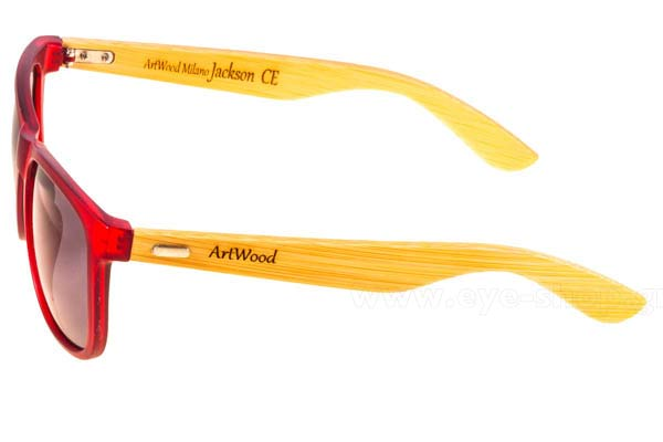 Artwood Milano model Jackson color Red Bamboo Temples