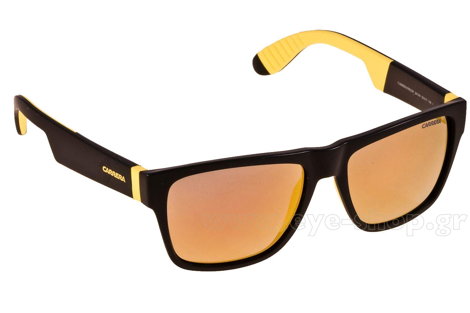 77fd0461e1891 SUNGLASSES Carrera CARRERA 5002  SP 267UW BLCK YLLW ORANGE FLASH ML