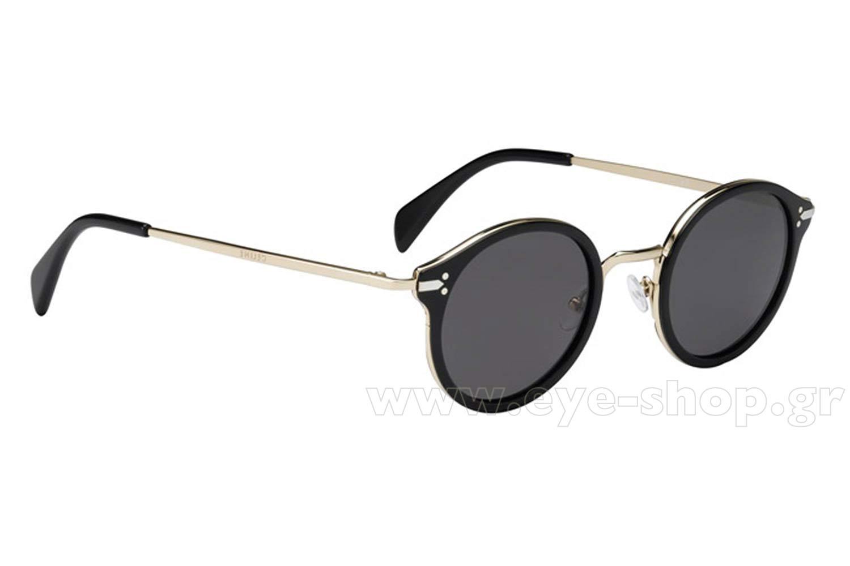 51c4b23c6577 Round color black gold plastic lenses dark gray plastic jpg 1500x1000 Celine  mens sunglasses