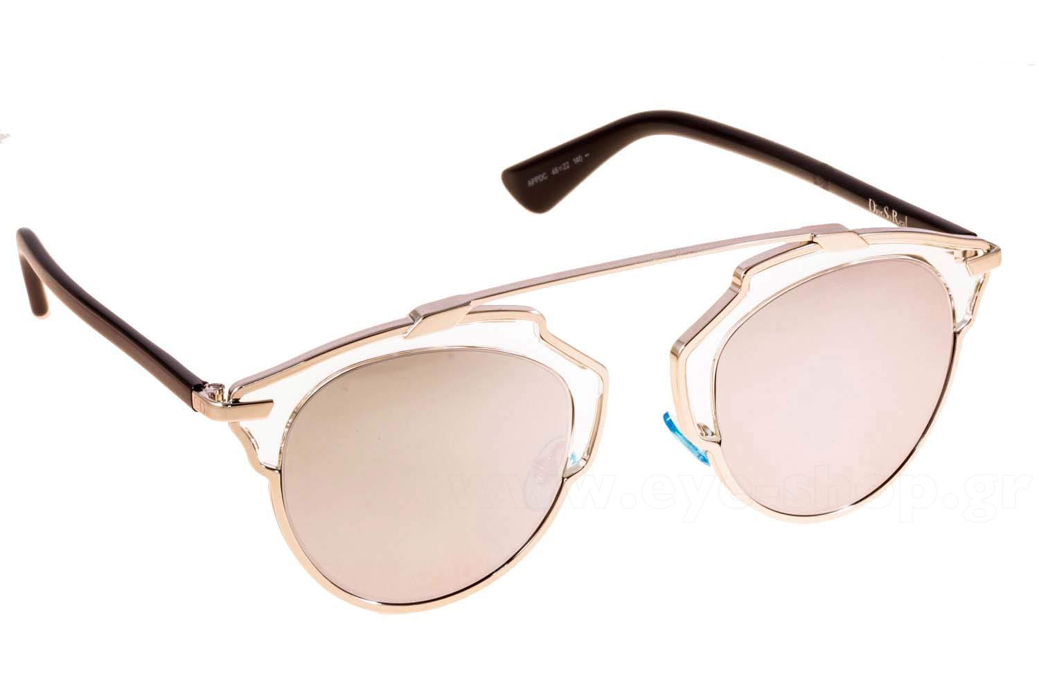 Enlarge Colors Discontinued. Sunglasses Christian Dior SO REAL APP-DC 582428dcb694