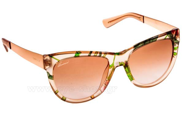 Rhian-Sugdenwearing sunglasses GucciGG 3739S