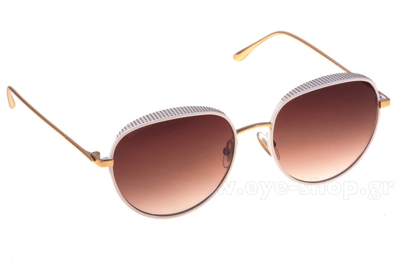jimmy choo sunglasses online wm6r  SUNGLASSES Jimmy Choo ELLO/S ONR JS WHTE GOLD BROWN SF