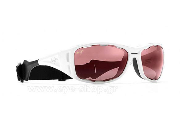 Sunglasses Maui Jim WATERMAN R410-05 White Maui Rose