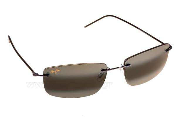 Sunglasses Maui Jim SANDHILL 715-06 - MauiPure Gray double gradient mirror Polarized Plus2