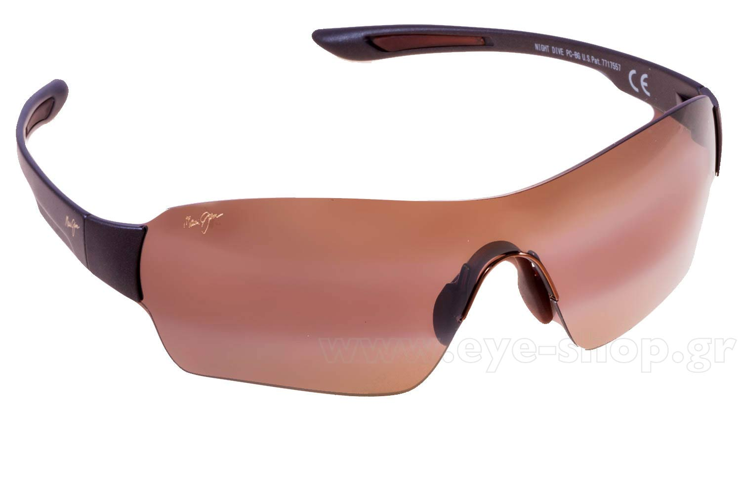 ad9008446d9 SUNGLASSES Maui Jim NIGHT DIVE 521-25M Bronze double gradient mirror  Polarized Plus2