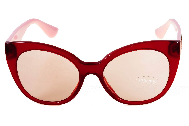 37260f1244d Frame Color red pink - Lenses Color gray gradient organic. Miu ...