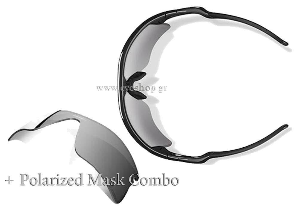 1d9a5aed5d Oakley model RADAR color ® RANGE ™ 9056 09-664 2nd mask Black Iridium  Polarized
