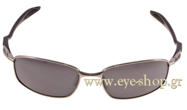 c4d2efc5f0 SUNGLASSES Oakley Blender 4059 02 Black iridium Chrome silver Ghost Text. Oakley  Blender 4059