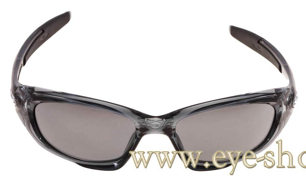 0346659fab Frame Color crystal clear - Lenses Color Black iridium polarized. Oakley  model TWENTY ...