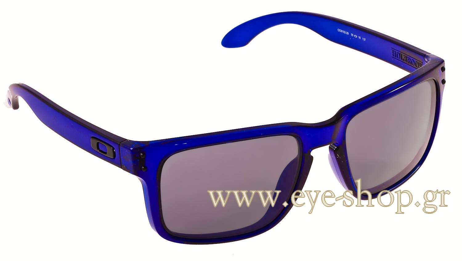 oakley blue  oakley holbrook crystal blue sunglasses