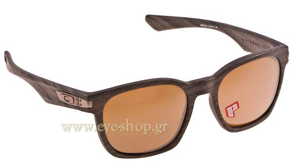 ab7c66344ea Sunglasses Oakley GARAGE ROCK 9175 09 WOODGRAIN Tungsten Iridium polarized