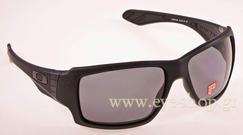 26cb156f85 SUNGLASSES Oakley BIG TACO 9173 04 Grey Polarized - Matte Black