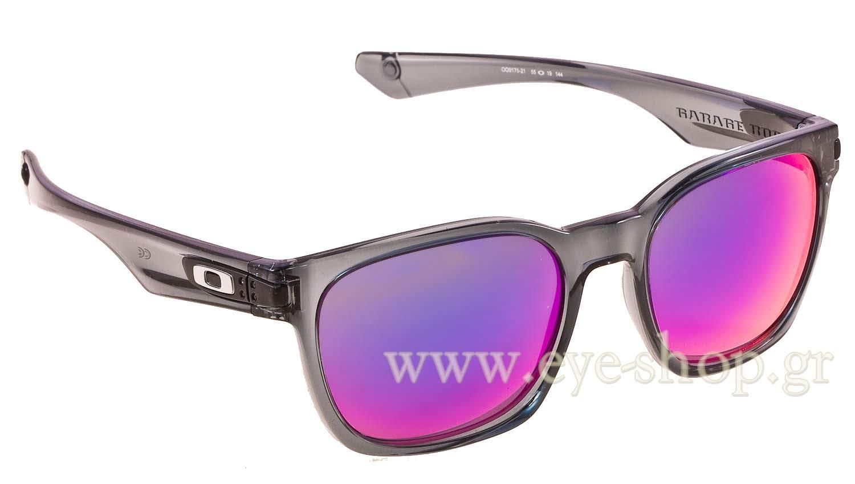 oakley garage rock 9175 21 crystal black 55 sunglasses sport eyeshop rh eye shop eu
