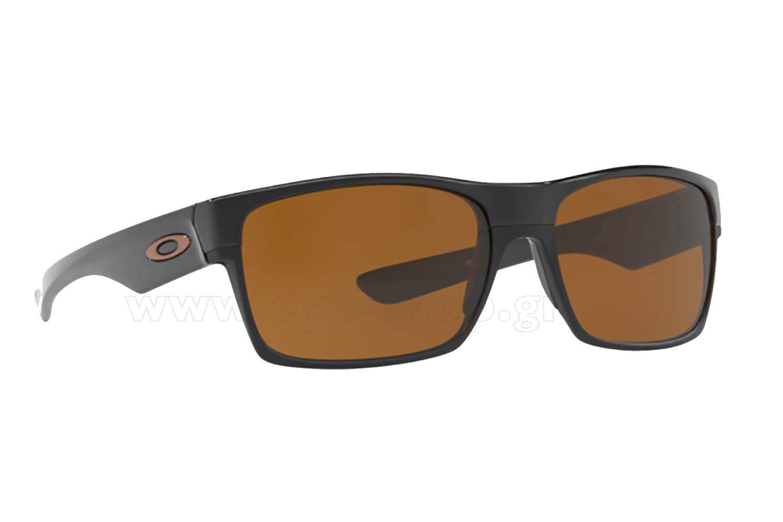 e27007f90cd SUNGLASSES Oakley TwoFace 9189 03 Polished Black - Dark Bronze