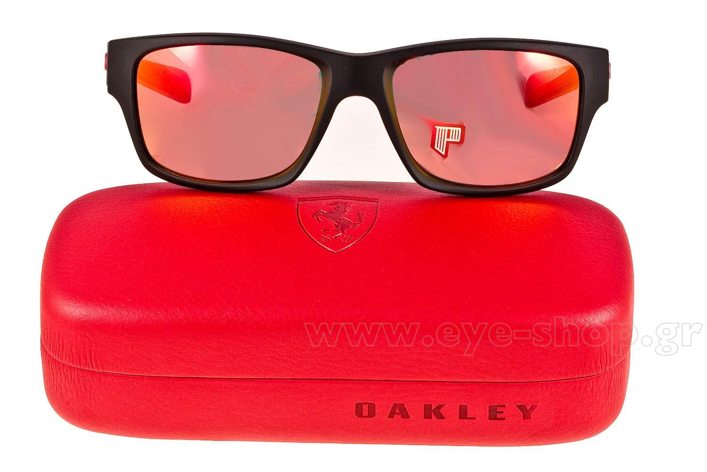 f41128b037 Oakley model Jupiter Squared color 9220 06 Carbon Ruby Polarized Ferrari