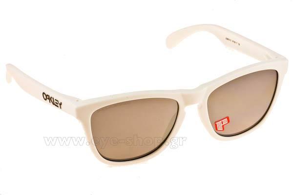 8fc7741ad0 Sunglasses Oakley Frogskins 9013 13 Matte Cloud Bl Iridium Polarized