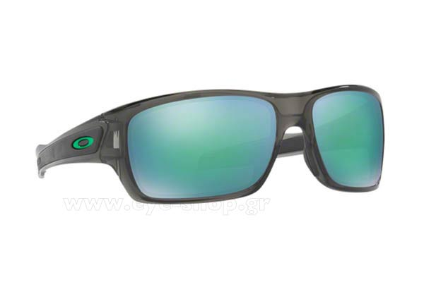 5f01ab3101 Sunglasses Oakley Turbine 9263 09 Polarized Jade Iridium