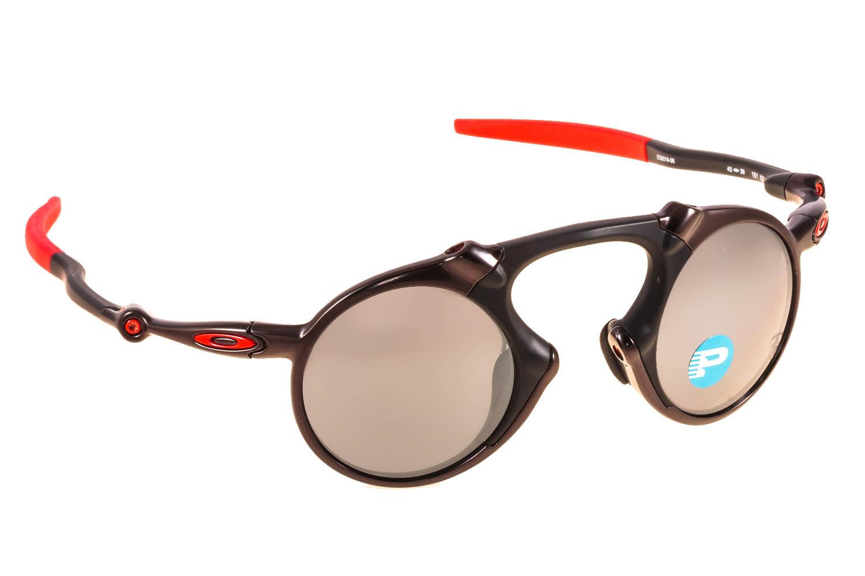 ef73d71ff5 Enlarge Colors Discontinued. Sunglasses Oakley MADMAN 6019 6019 06 Dark  Carbon Bl Iridium Polarized