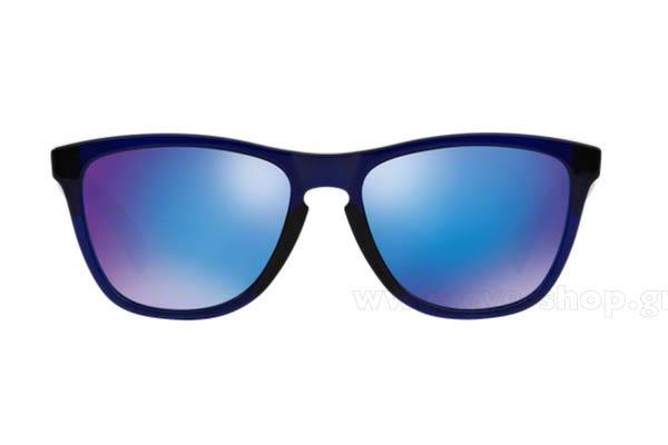 bb72ba56c2 Frame Color Alpine Bluebird - Lenses Color Blue mirror. Oakley model  Frogskins ...