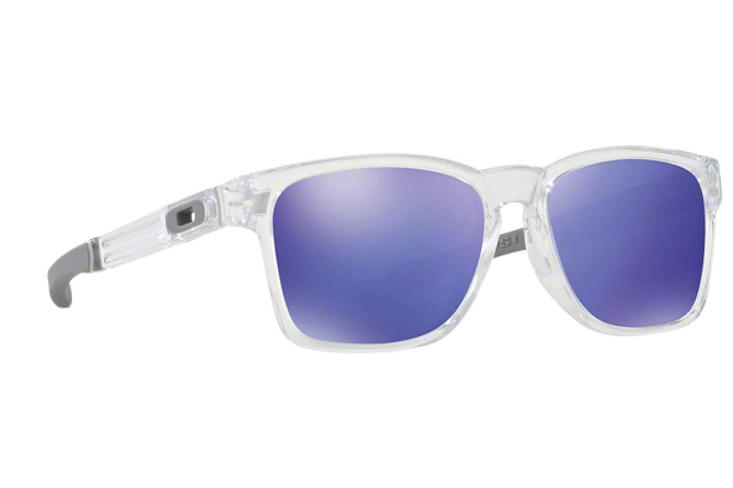 4a8f5cb5d3 SUNGLASSES Oakley CATALYST 9272 05 Clear Violet Irid