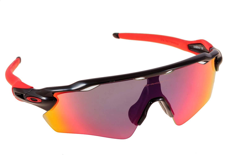 4ec08e2a188c9 ... usa sunglasses oakley radar ev path 9208 21 black red iridium 16205  fbf88