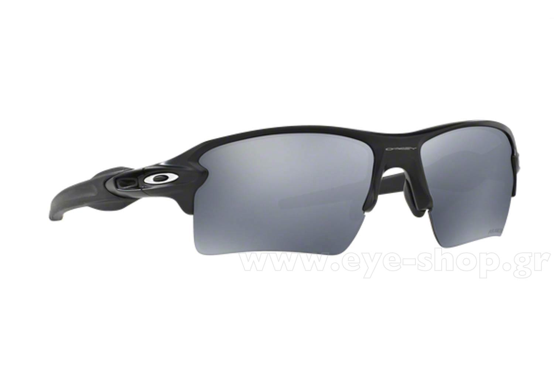 7c99bb0fa2329 SUNGLASSES Oakley FLAK 2.0 XL 9188 53 Mt Black Blk Iridium Polarized