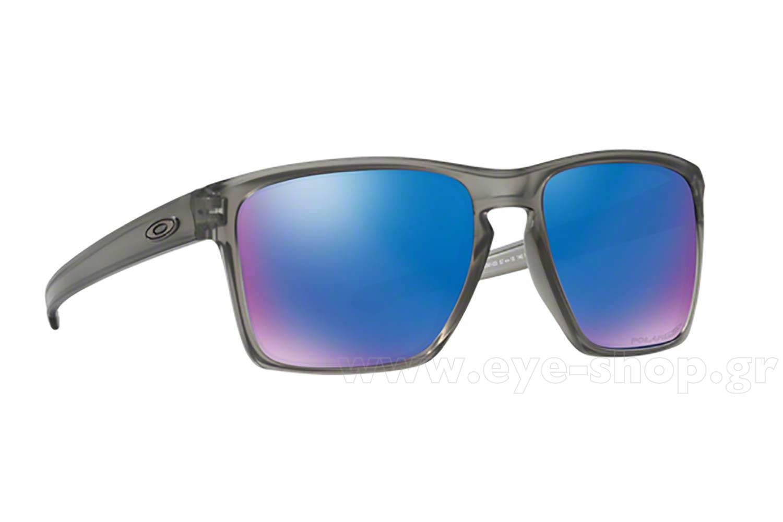 20a506a124 SUNGLASSES Oakley SLIVER-XL-9341 03 Grey Ink Sapphire Iridium Polarized