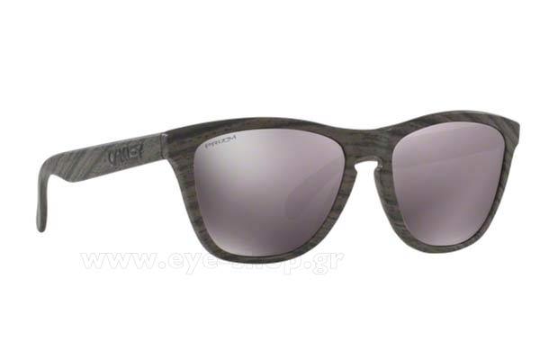 1e410c0f9f3 Sunglasses Oakley Frogskins 9013 89 Woodgrain Prizm Daily Polarized