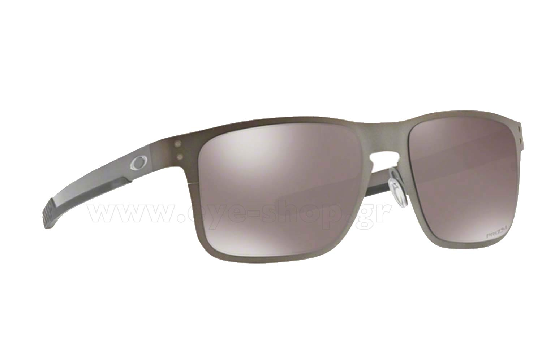 e0ee102f564 SUNGLASSES Oakley Holbrook Metal 4123 06 Matte Gunmetal Prizm black  polarized