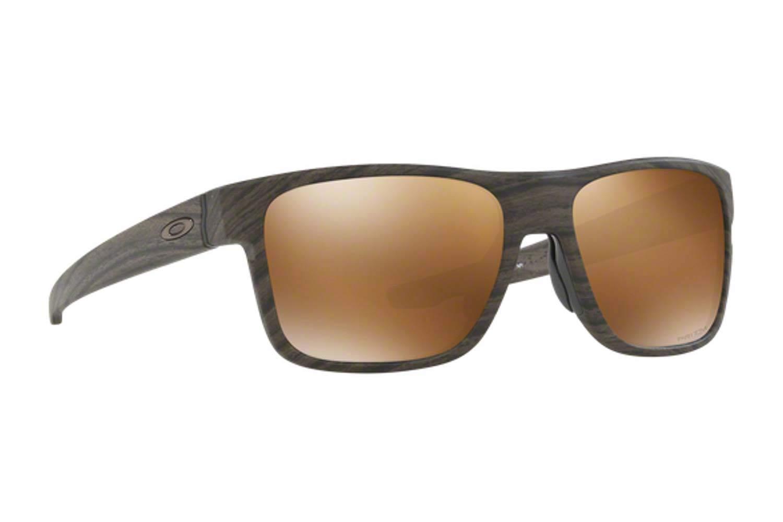 1ba1ea257b SUNGLASSES Oakley CROSSRANGE 9361 07 Woodgrain prizm tungsten polarized