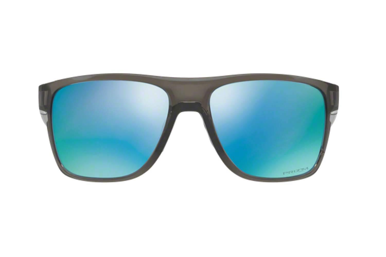 6fb5ceface SUNGLASSES Oakley CROSSRANGE XL 9360 09 GREY SMOKE prizm deep h2o  polarized. Oakley CROSSRANGE XL 9360