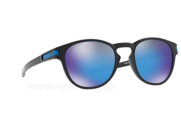 89cfed9400f Sunglasses Oakley LATCH 9265 30 Prizm Sapphire Iridium