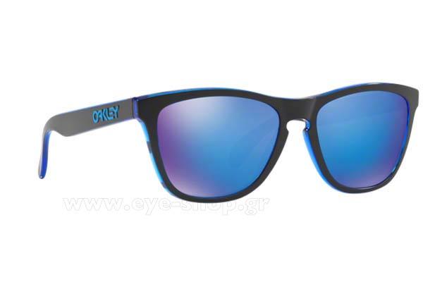 1a568f6f075 Sunglasses Oakley Frogskins 9013 A9 Eclipse Blue Sapphire Iridium