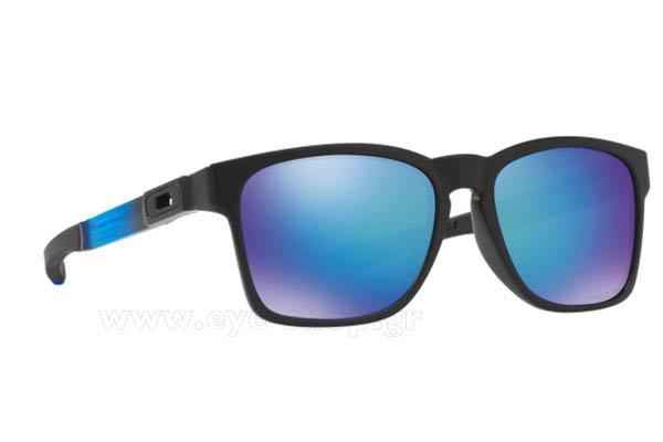 a532a0aa8d9 Sunglasses Oakley CATALYST 9272 22 Sapphire Fade sapphire polarized
