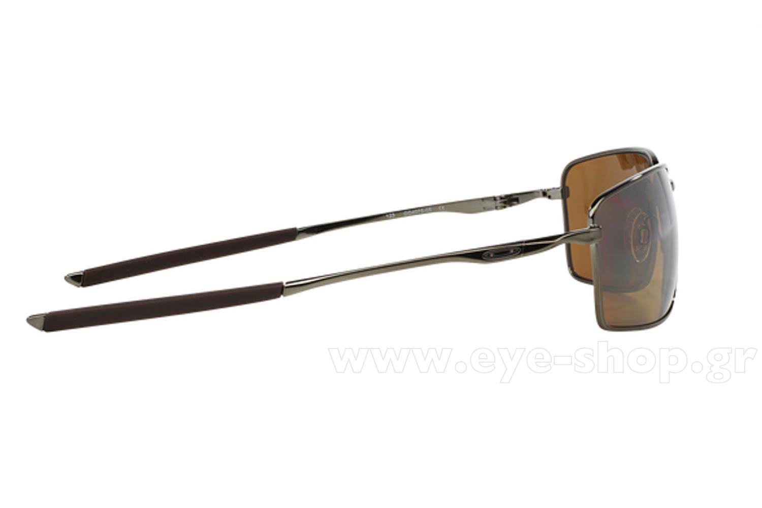 31c7d1aa14 Oakley model Square Wire 4075 color 06 Tungsten irid Polarized