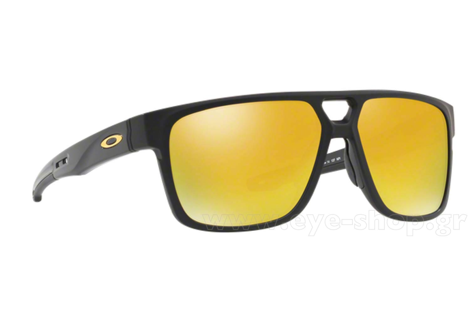 a85377df2ec SUNGLASSES Oakley CROSSRANGE PATCH 9382 04 Mt Black 24k Iridium