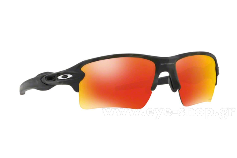 e7e4abe8f8d23 SUNGLASSES Oakley FLAK 2.0 XL 9188 86 Blk Camo Prizm ruby