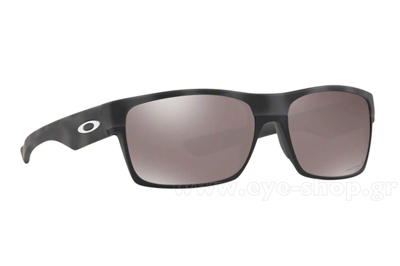 5e21a50382 SUNGLASSES Oakley TwoFace 9189 41 Camo Prizm Blk Polarized