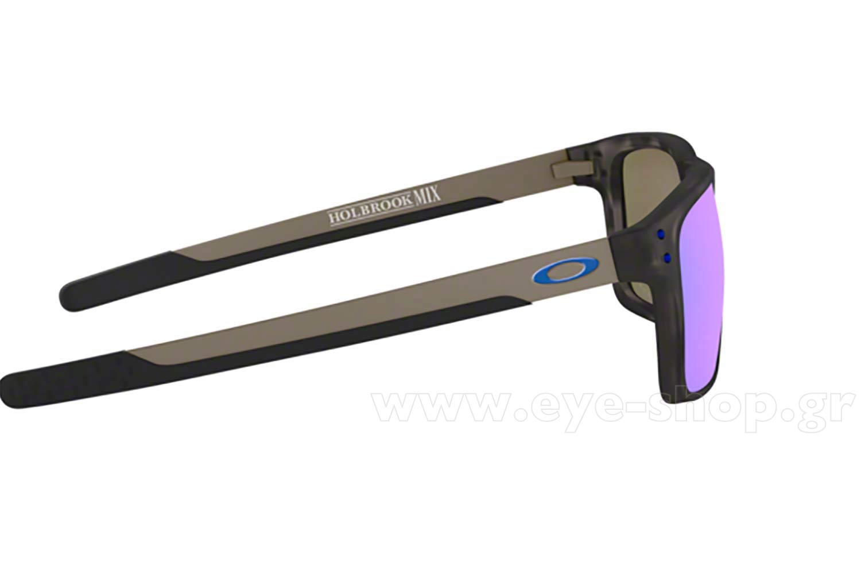 7691b24d57804 Frame Color MATTE BLACK TORTOISE - Lenses Color prizm sapphire polarized.  Oakley model Holbrook Mix 9384 color 11 polarized