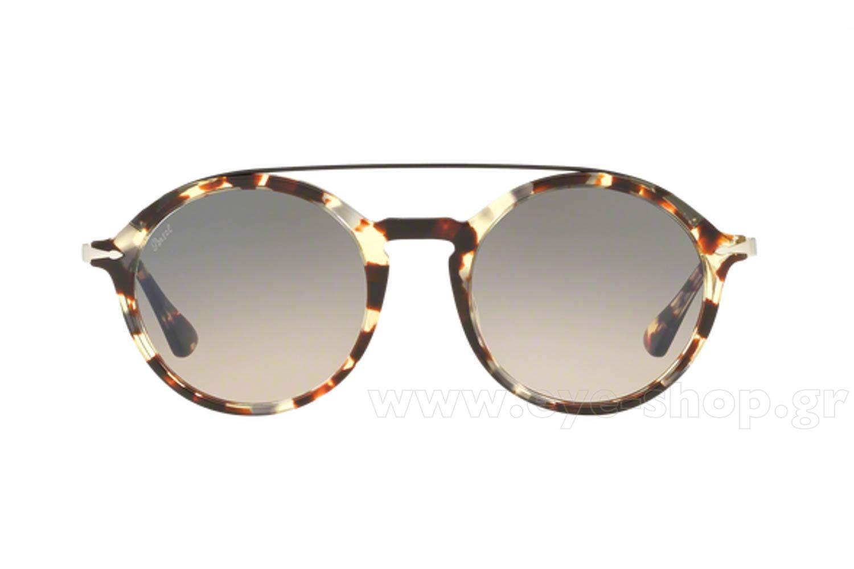 2f97ae1370e96 Men s Accessories Persol PO 3172S 105732 Havana Grey Brown Sunglasses 3172-S  51mm